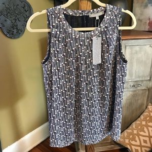 Anthropologie Daniel Rainn printed Top sz M